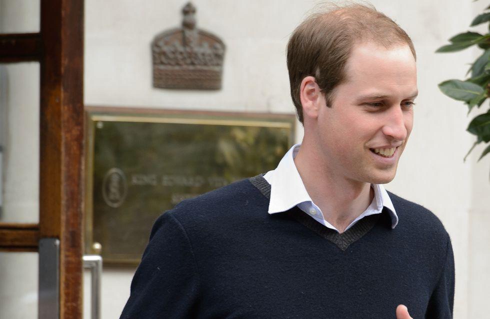 Le prince William reprend du service et s'éloigne de sa petite Charlotte