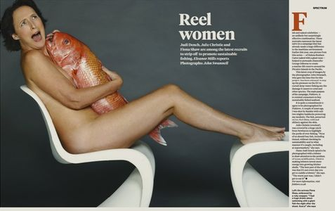 Fiona Shaw nue pour Fishlove