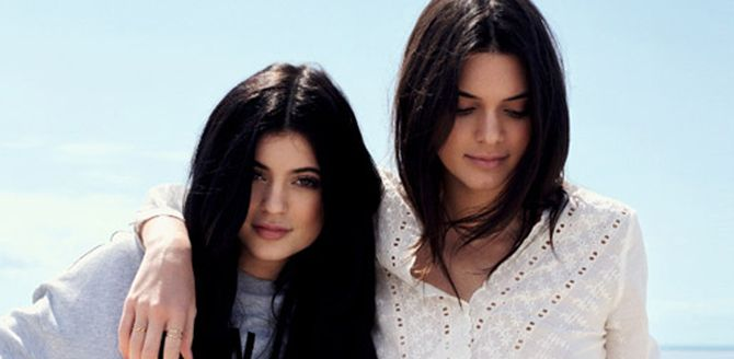 Kendall y Kylie Jenner para Topshop