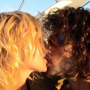 La foto scelta da Paola Barale per comunicare il suo addio a Raz