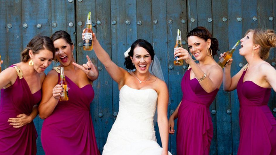 22 Brides & Bridesmaids Who Were Totally Owning It