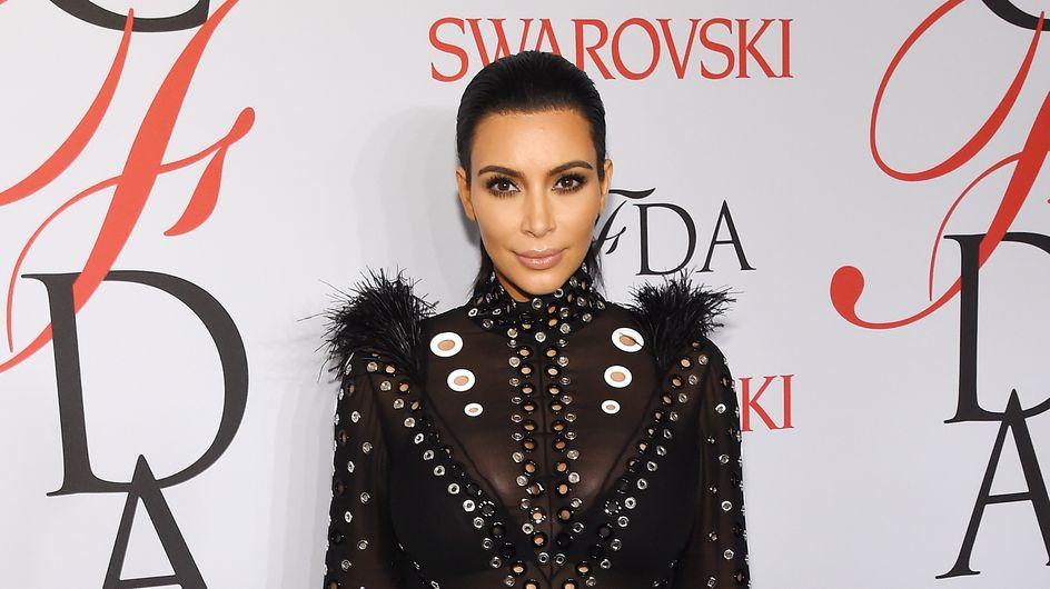 La robe de Kim Kardashian a pris feu aux CFDA Awards