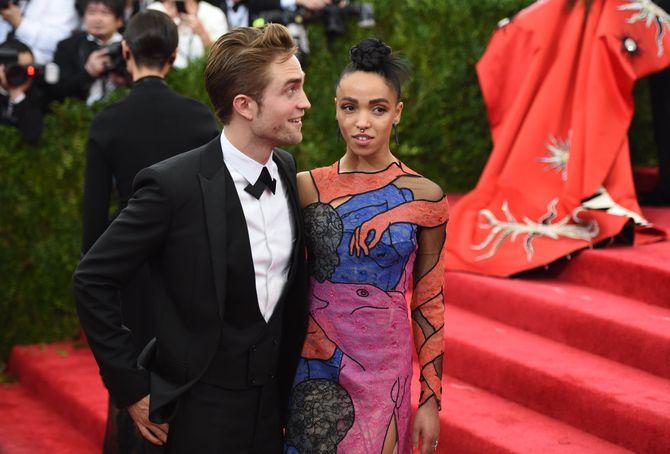 FKA Twigs et Robert Pattinson