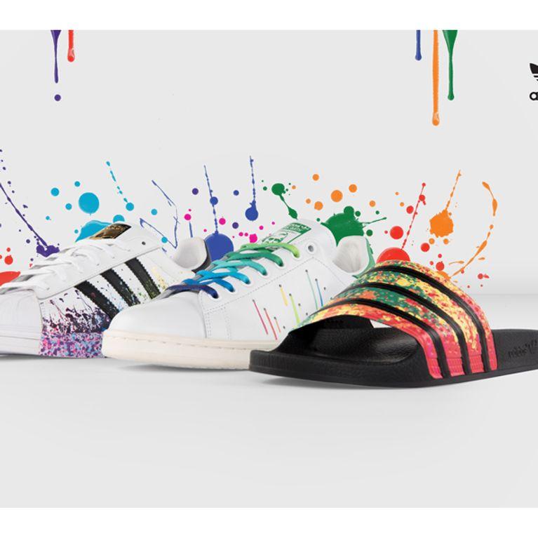 La Smith Stan Adidas Des Lance Gays Droits Soutenir Pride Pour Les L54R3Aj