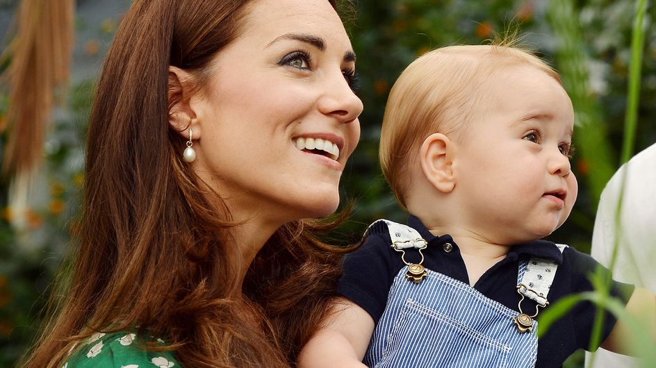 Kate Middleton et Baby George complices au parc