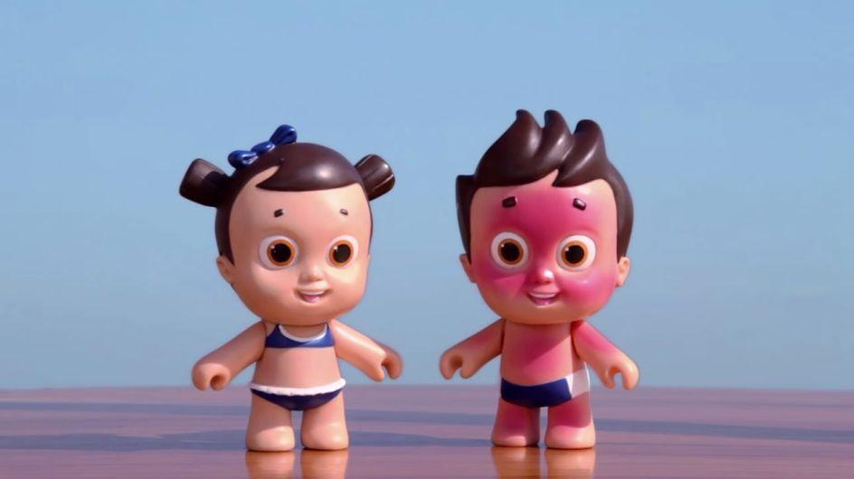 Des poupées qui craignent les coups de soleil pour sensibiliser les enfants aux UV