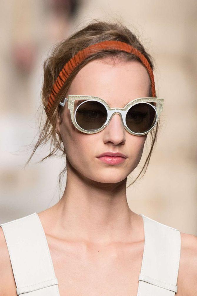 Les lunettes de soleil Fendi