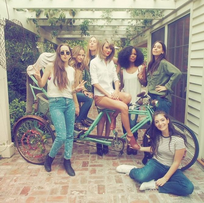 Taylor Swift et ses amies