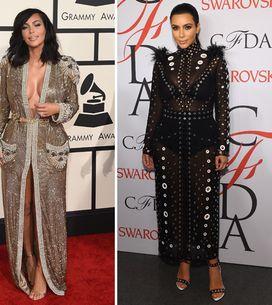 Kim, aspettando il pancione... I look leggendari della donna curvy più fashion d
