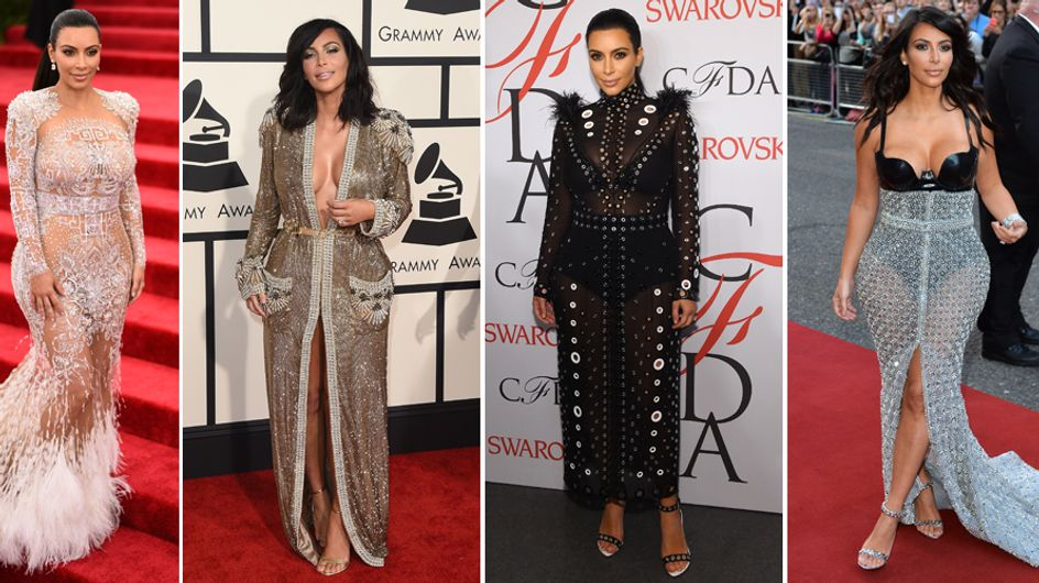 Kim, aspettando il pancione... I look leggendari della donna curvy più fashion del mondo!