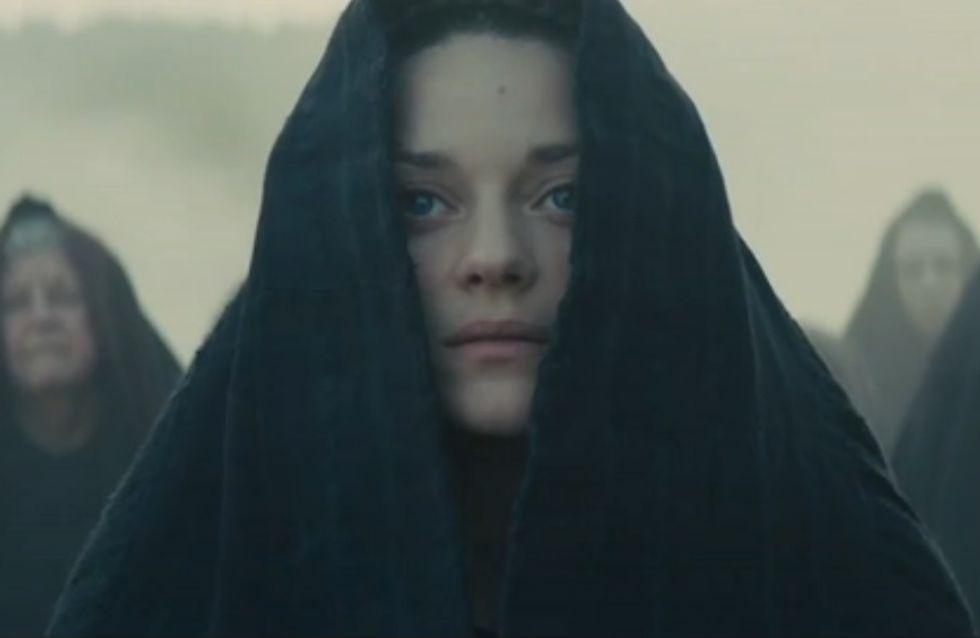 Marion Cotillard flippante dans la bande annonce de Macbeth