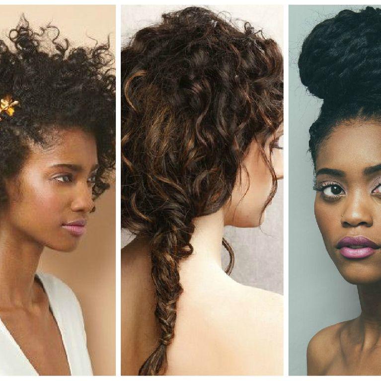 15 Coiffures Stylees Pour Cheveux Frises Reperees Sur Pinterest