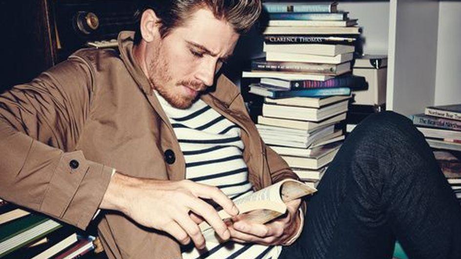 ¡Leer es sexy! Y los actores y modelos más atractivos del mundo nos lo demuestran