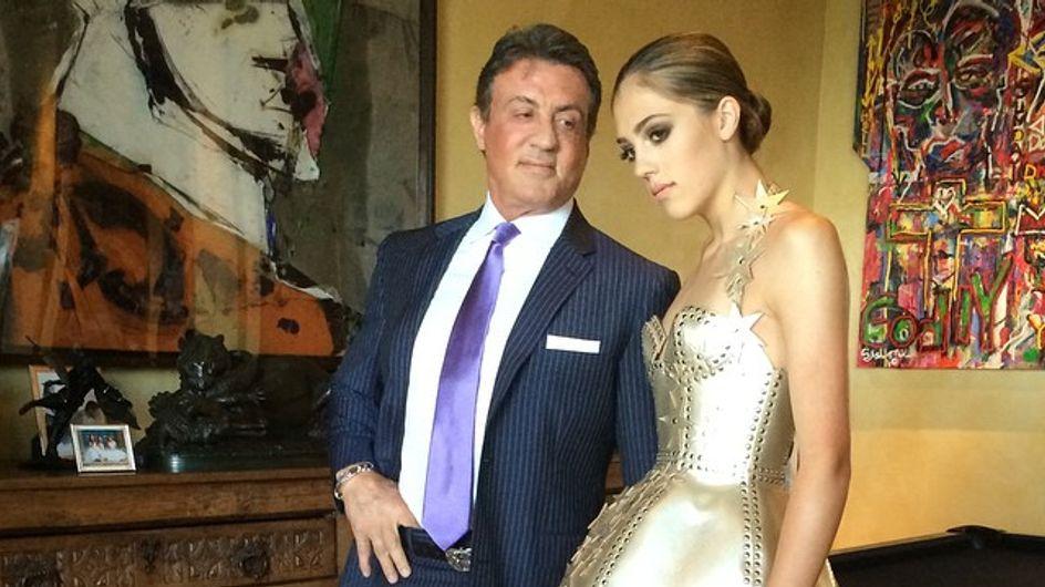 Sistine Stallone : A 16 ans, la fille de Sylvester Stallone s'apprête à être mannequin (Photos)