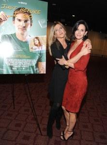Jennifer Aniston et Courtney Cox.