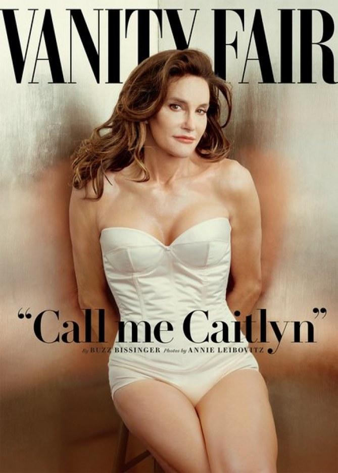 Caitlyn Jenner en Une de Vanity Fair.