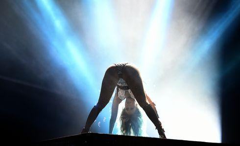 Jennifer Lopez en concert au Maroc