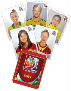 Album Panini Coupe du monde de foot féminin 2015
