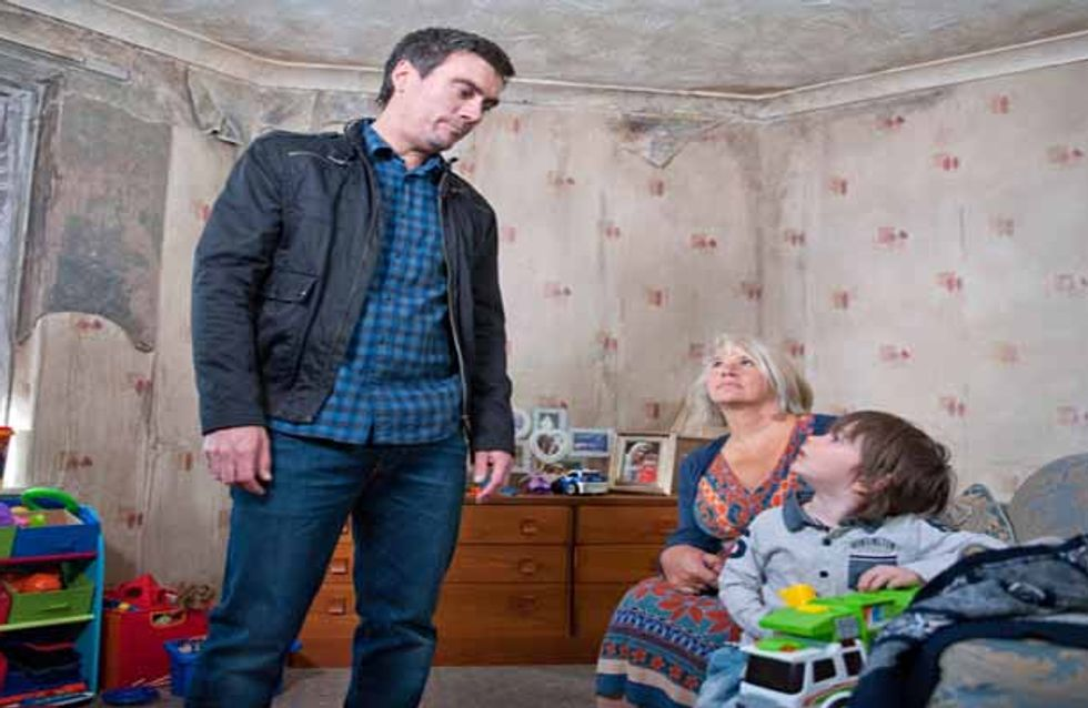 Emmerdale17/06 - Cain visits Charity then goes to see Joanie
