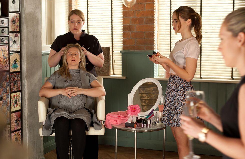 Hollyoaks 19/06 - Mercedes tells John Paul her secret