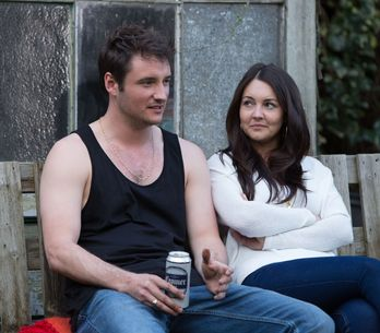 Eastenders 19/06 - Buster attempts to talk to a resilient Shirley