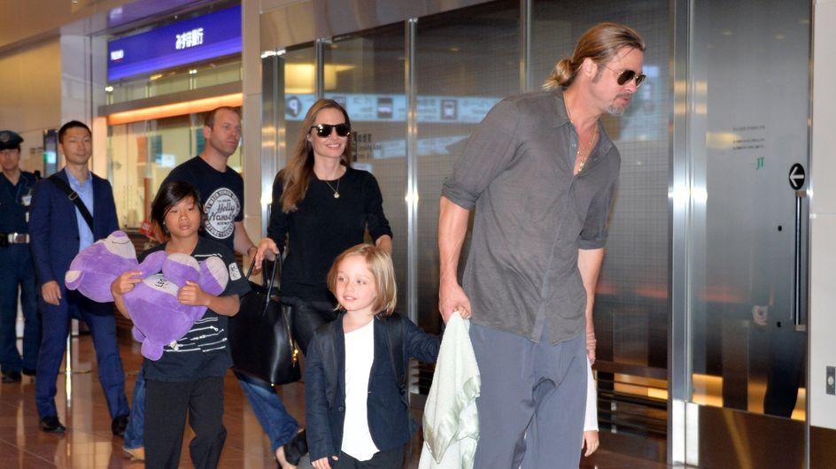 La famille Brangelina s'envole pour la France en classe éco