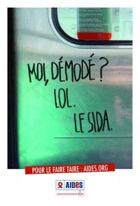 """""""Moi, le Sida"""", la nouvelle campagne de Aides"""