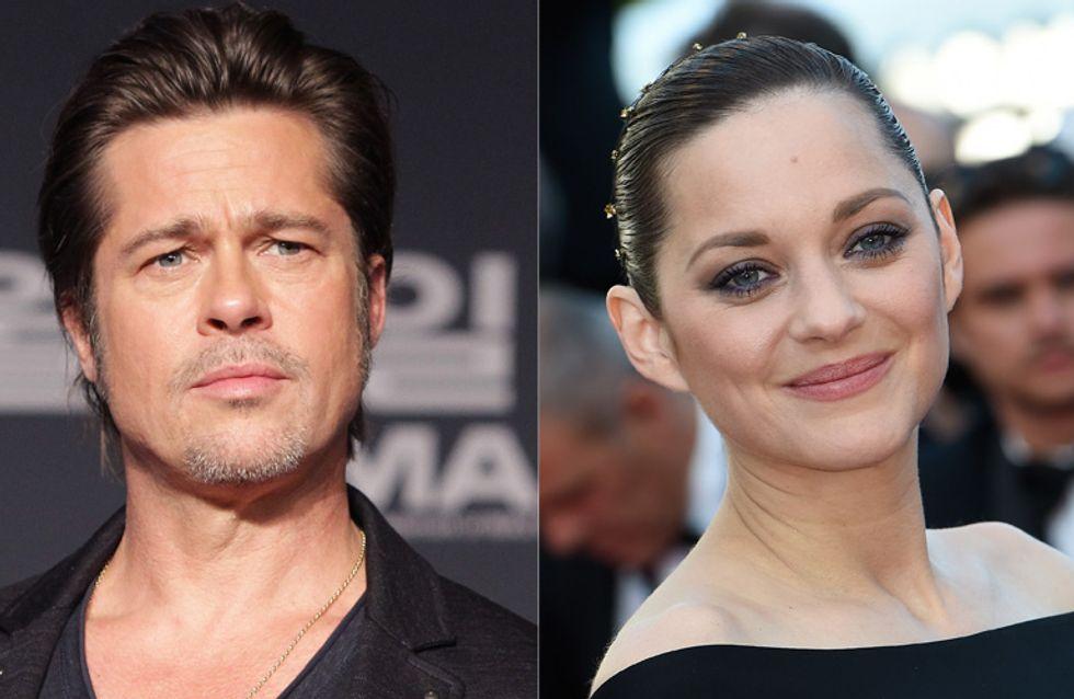 Marion Cotillard et Brad Pitt, en couple dans leur prochain flim