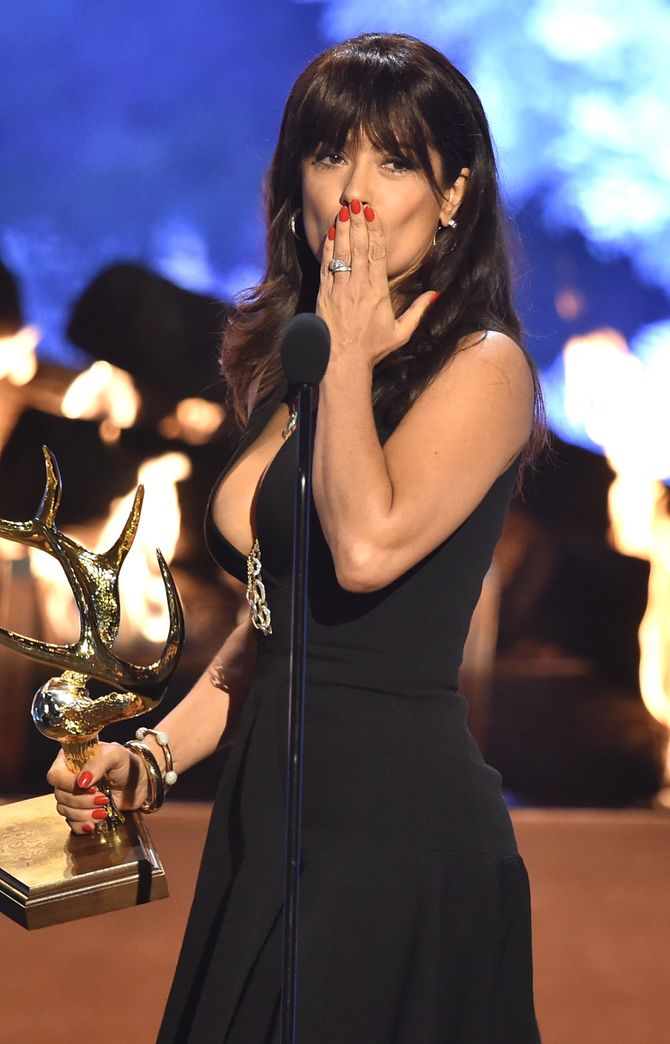 Salma Hayek aux Guys' Choice Awards