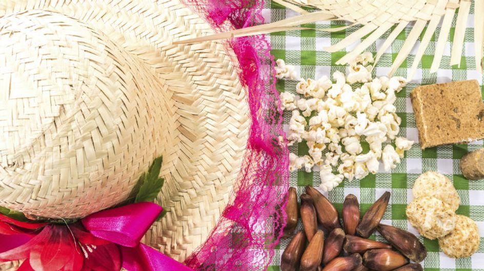 Top receitas para uma festa junina light
