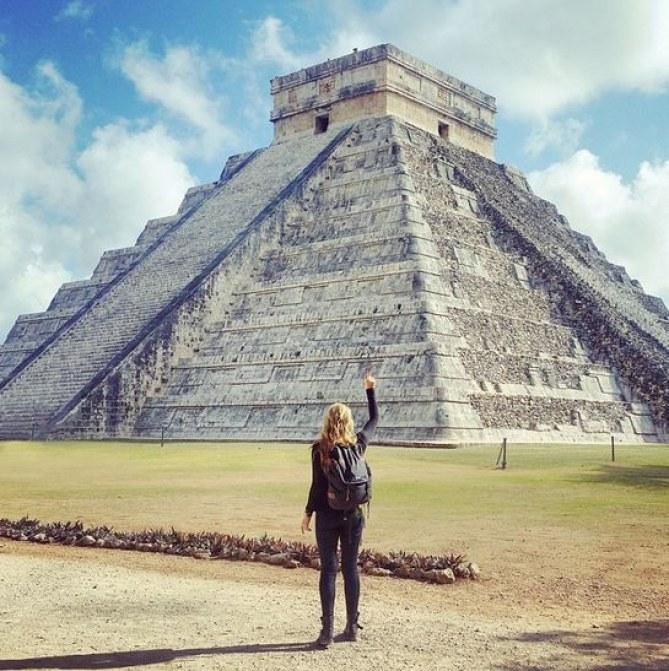 1 - die Maya-Ruinen in Mexiko