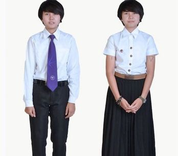 Cette université thaïlandaise adapte ses uniformes pour ses étudiants transgenre
