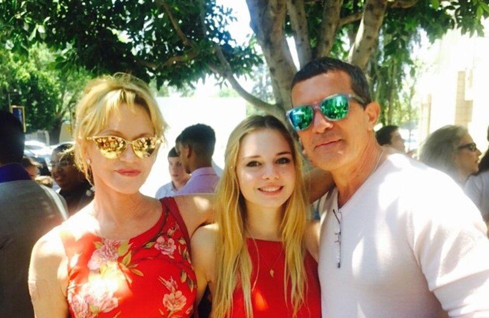 Melanie Griffith et Antonio Banderas réunis pour leur fille Stella (Photos)