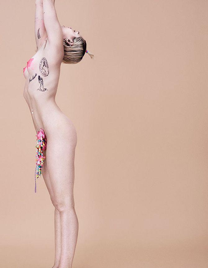 Miley Cyrus pour Paper Magazine