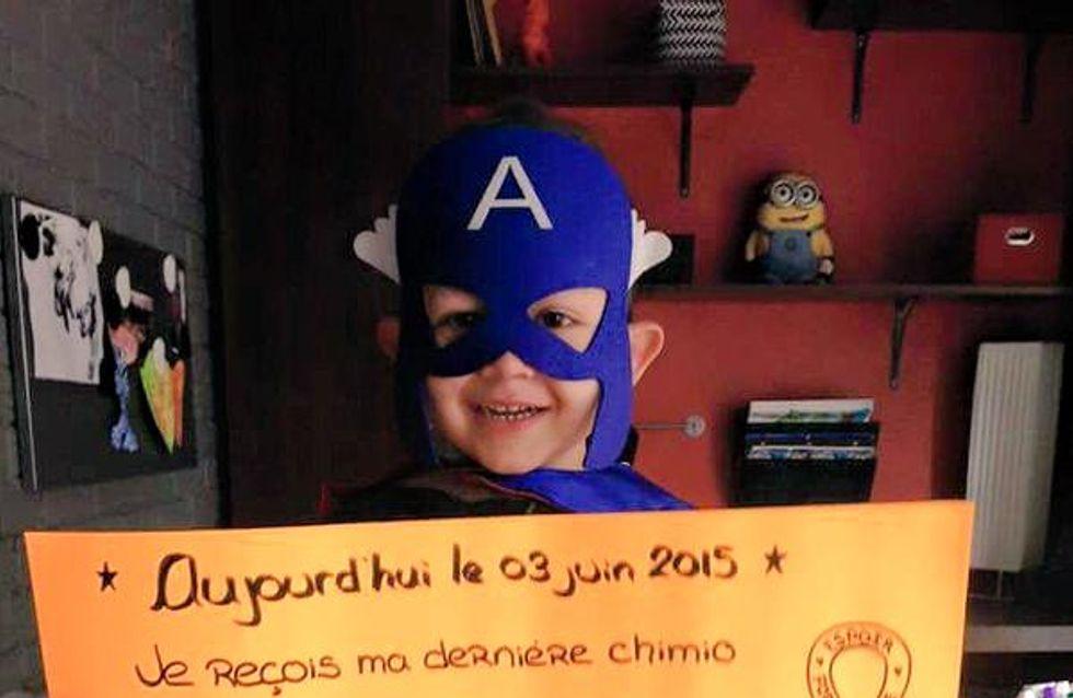 A 4 ans, Félix a vaincu la leucémie et il l'annonce par un adorable message