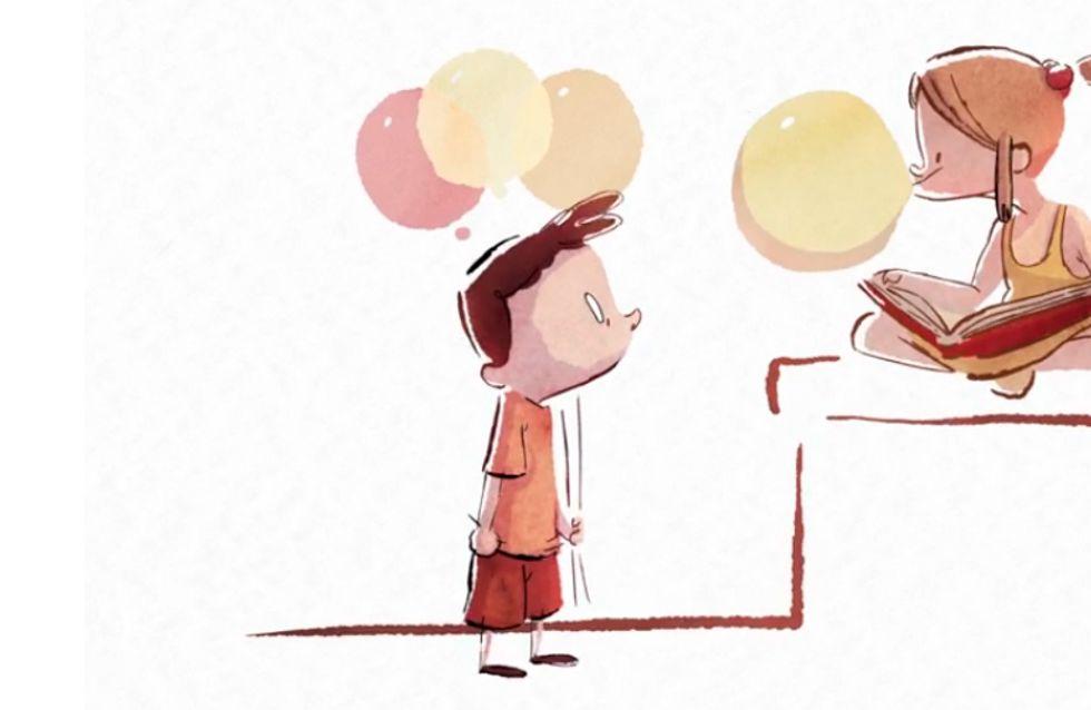Doce animação usa balões para simbolizar nossas memórias ao longo da vida