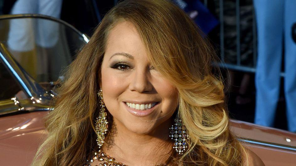 Mariah Carey aussi fait ses emplettes chez Carrefour (Photo)