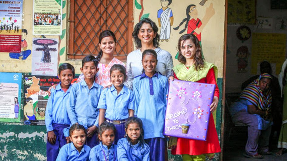 La femme de la semaine : Patricia Loison, pour l'éducation des enfants en Inde (Photos)