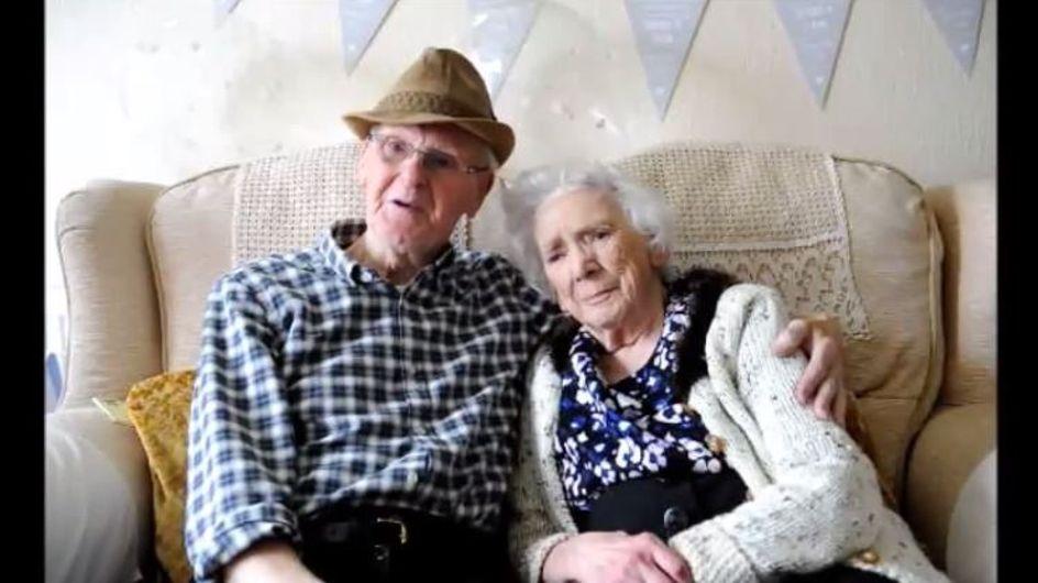 Amoureux depuis 84 ans, ils dévoilent le secret du bonheur (Vidéo)