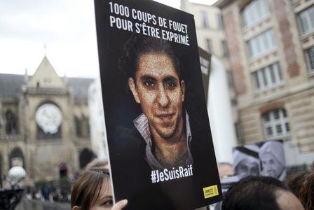 Manifestation en faveur de Raif Badawi