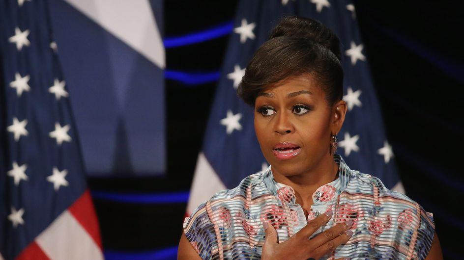 """Michelle Obama : """"Je me suis demandée ce que Barack et moi faisions subir à nos filles"""""""