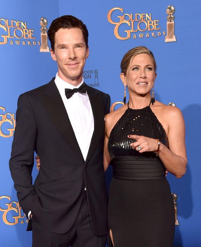 Benedict Cumberbatch et Jennifer Aniston