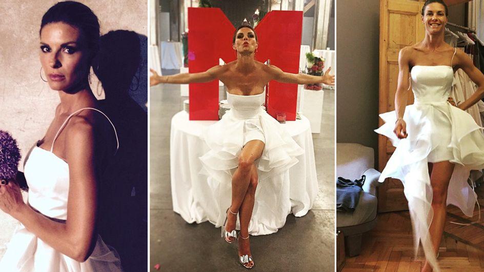 Martina Colombari: 11 anni di matrimonio e Billy le organizza una festa a sorpresa. Le foto!