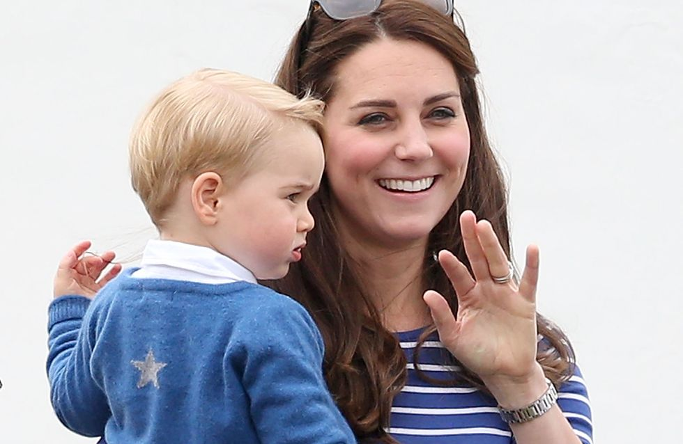 Kate Middleton ressort sa tenue de printemps favorite (Photos)