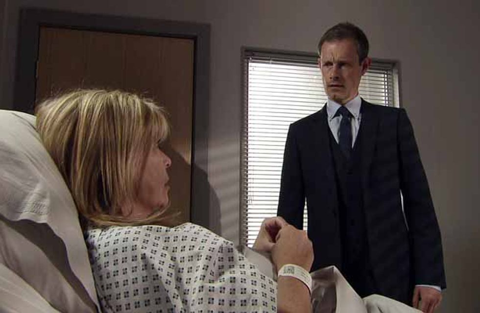 Coronation Street 26/06 - Nick braces himself to break Erica's heart