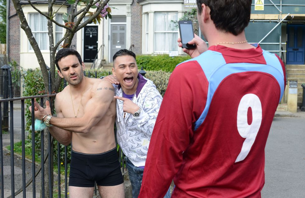Eastenders 23/06 - It's Kush's 30th birthday