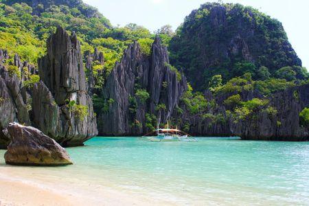 Playa de Coron, en las Islas Filipinas