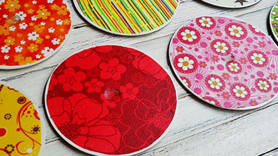 Ideas para reciclar CD's para la decoración de tu casa