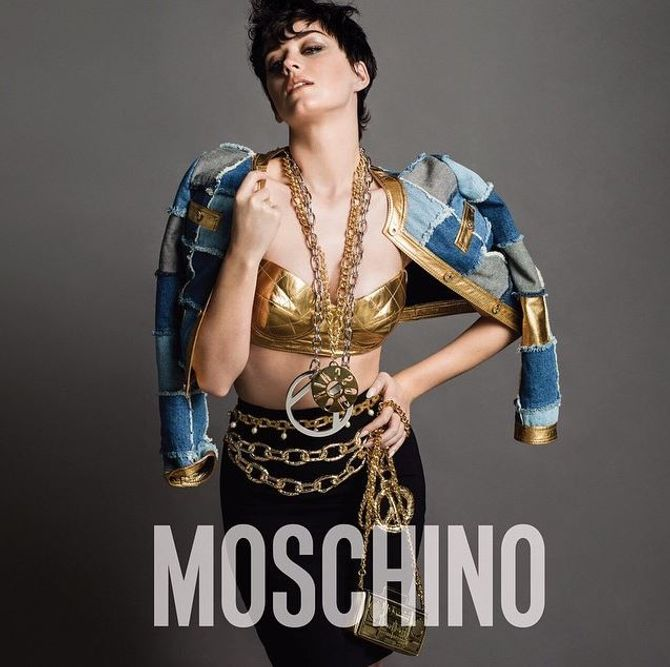 Katy Perry pour Moschino