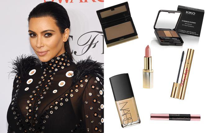 Copia el maquillaje de Kim Kardashian